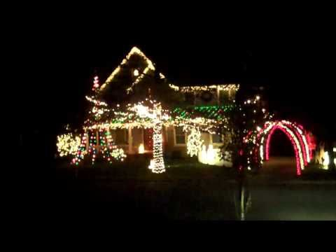 Rutgers University Fight Song The Bells Must Ring Christmas Lights