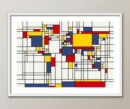 Worksheet. Mondri mapa mundi  Paisajes  Pinterest  Mondrian Design