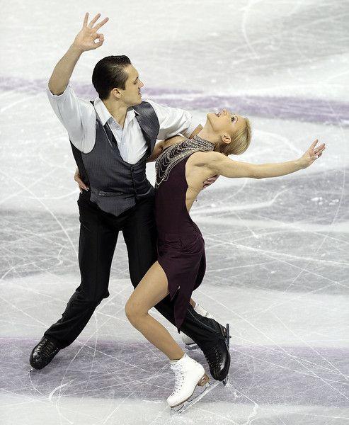 Volosozhar & Trankov--so beautiful today!
