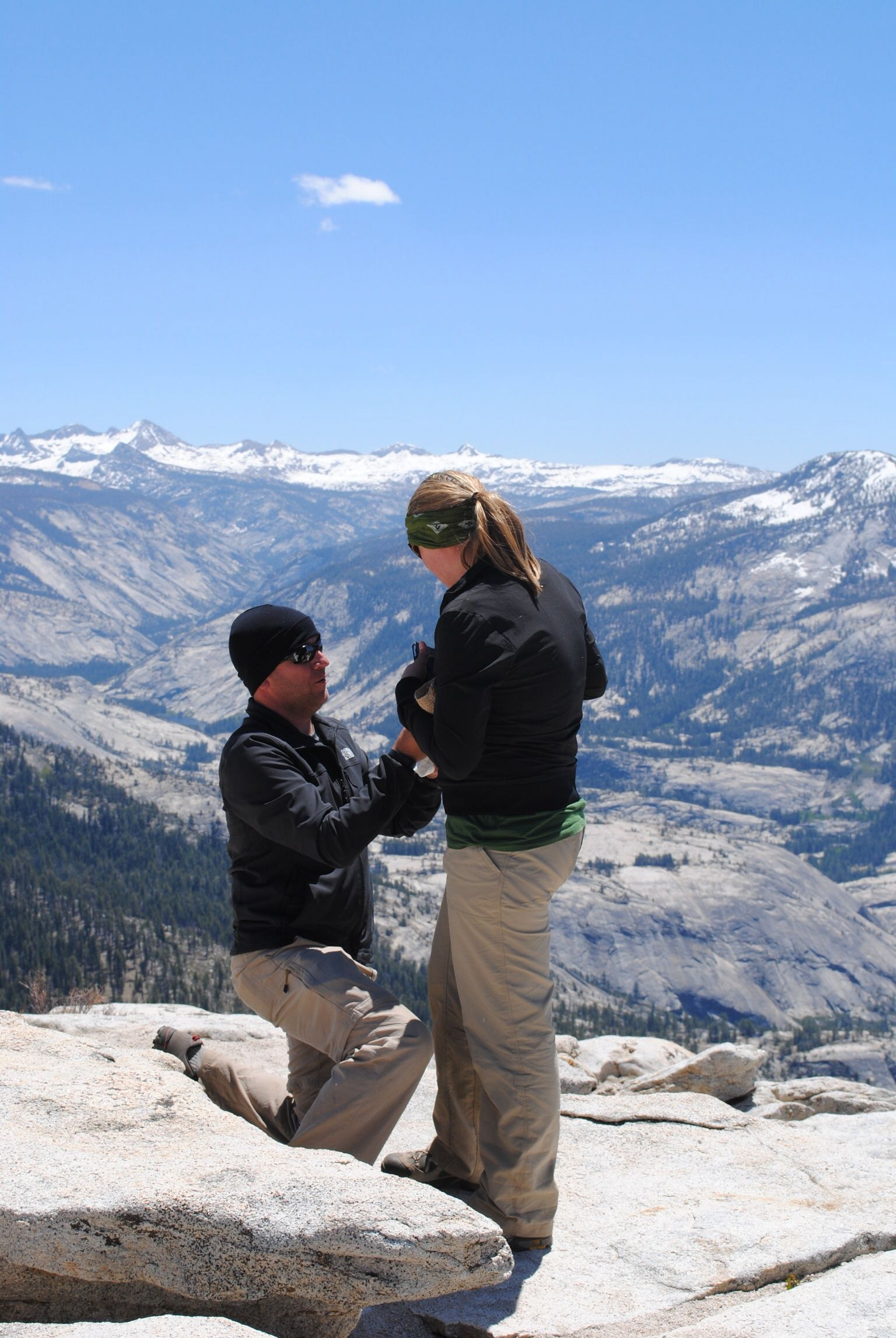 Proposal on Cloud's Rest, Yosemite