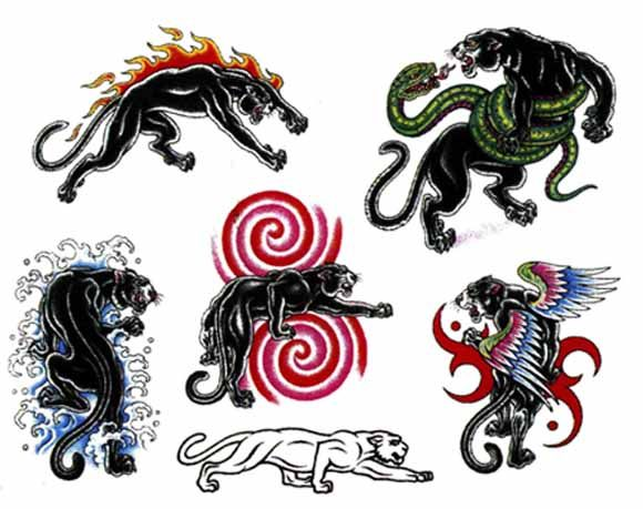 Black Panther Tattoo Flash Things I Love Black Panther