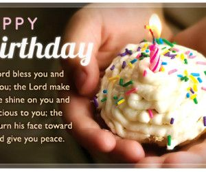 Birthday Wishes Christian Message ~ Happy birthday s blessing message picture picture