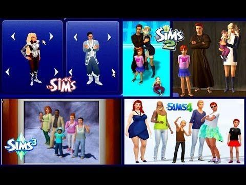 Sims1 vs sims 2 vs sims 3 vs sims 4 cas and genetics for Online games similar to sims