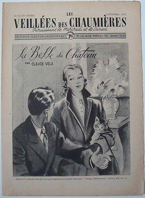 Les veillée des chaumières 6 sep. 1950 C. Vela, La Belle du Chateau, partie 2