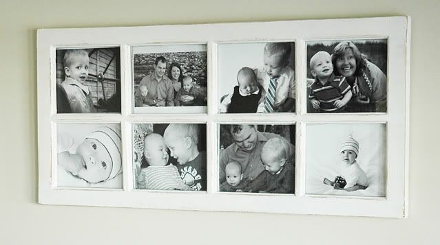 our humble abode window pane picture frame - Window Pane Picture Frame