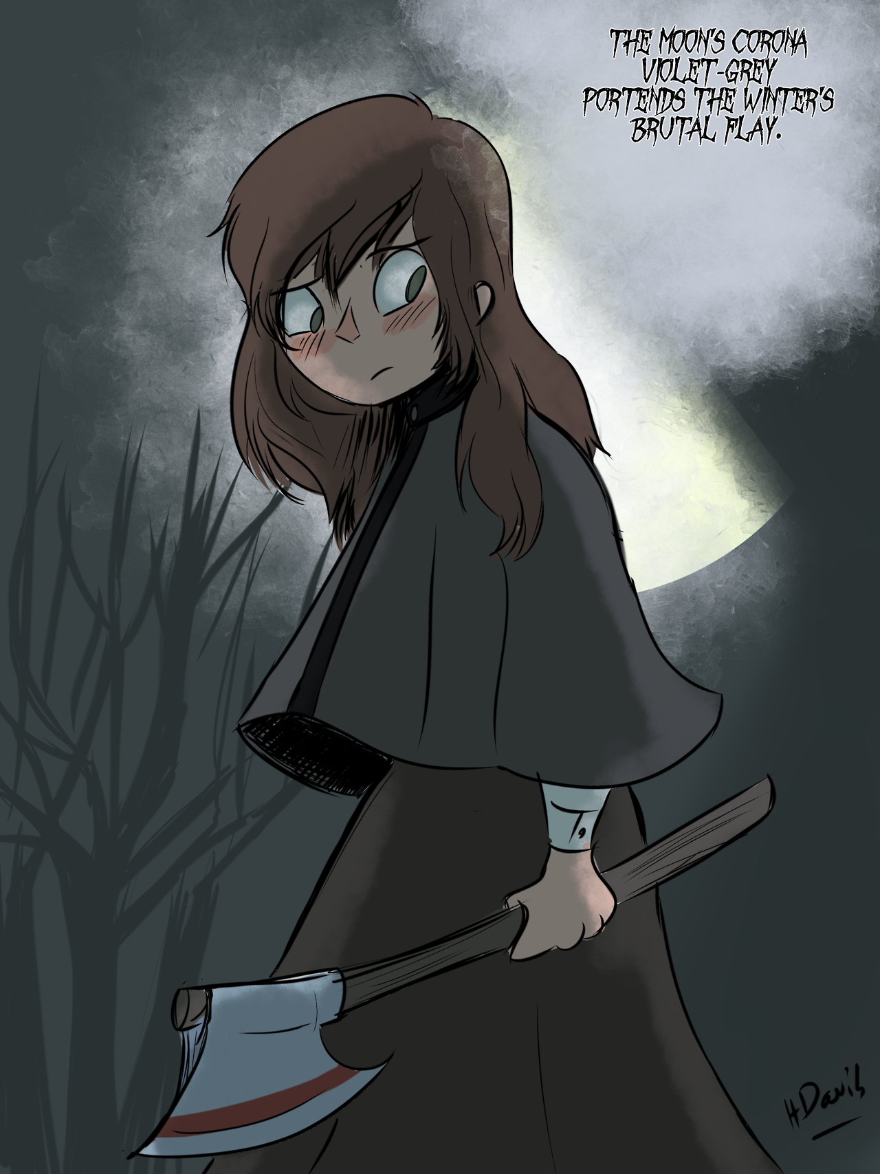 the woodsman s daughter with images over the garden on over the garden wall id=70007