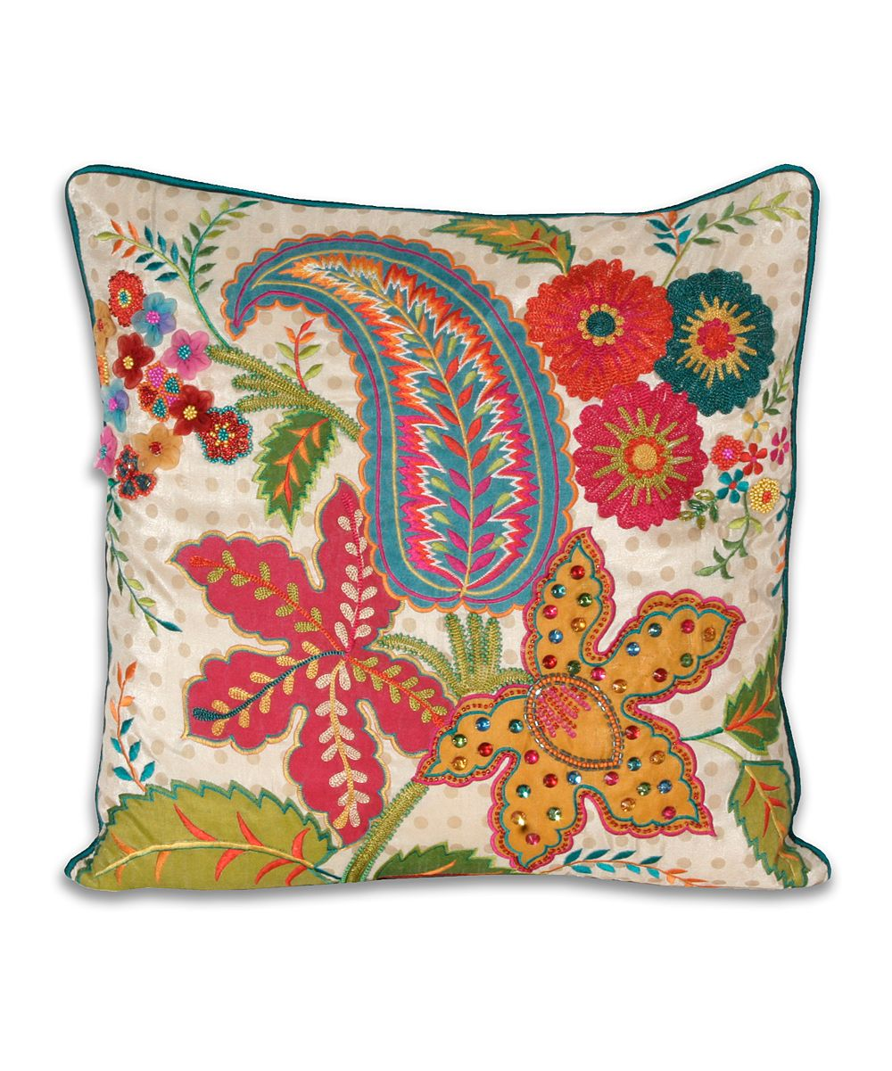 Indienne pillow af 39 s collection bordados - Cojines indios ...