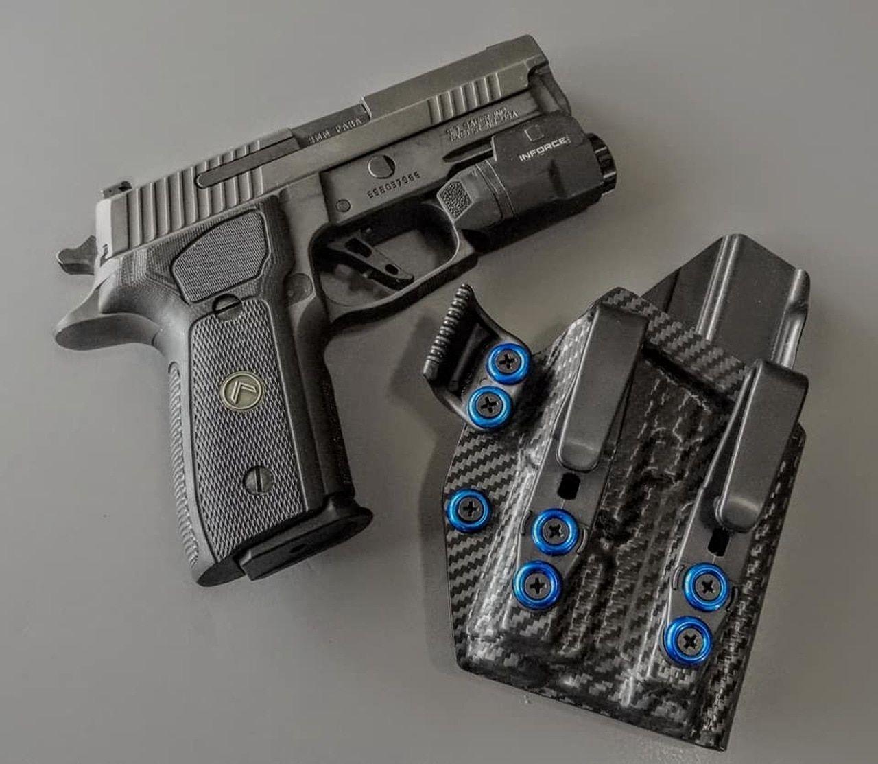 Light Bearing Ares Iwb Sig P229 Kydex Holster Hand Guns