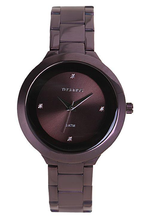 Relógio Technos 2035DDY1M Marrom - Marca Technos