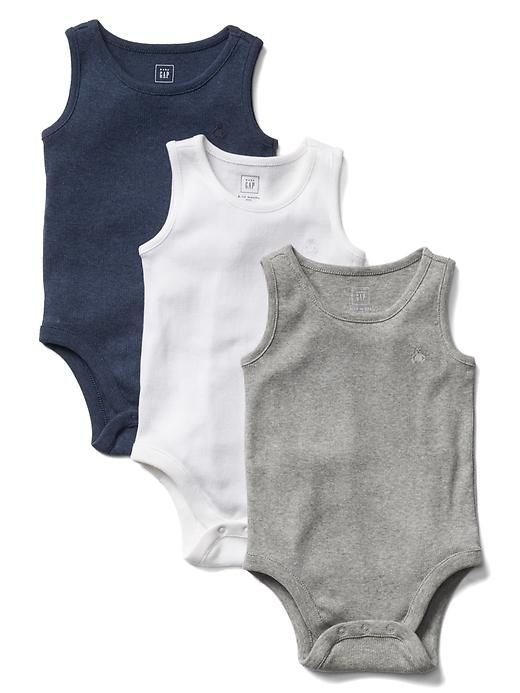 ae214fc3a Baby Gap - Favorite ribbed tank bodysuit (3-pack) | Liam's board ...