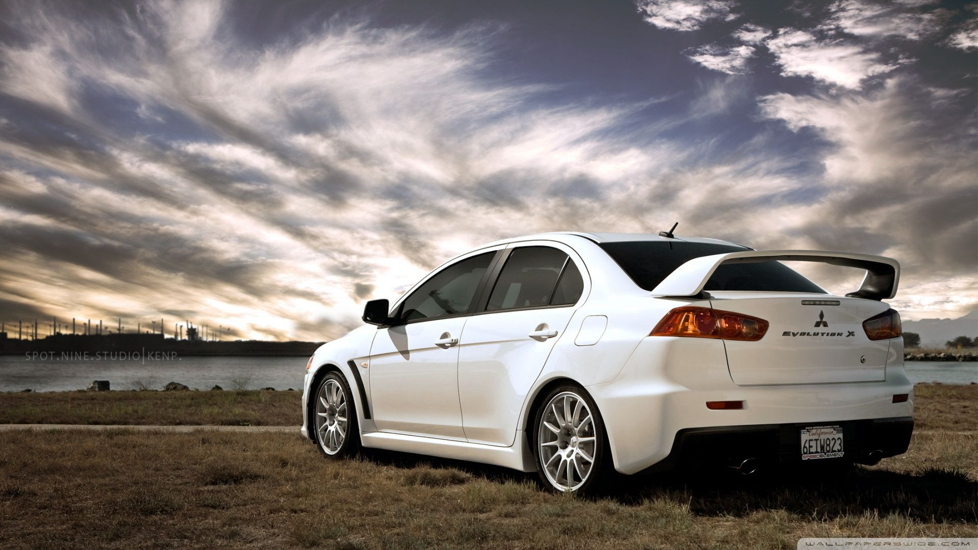 Evo 10 Wallpaper Mitsubishi Evolution X Hd Desktop Wallpaper Widescreen High