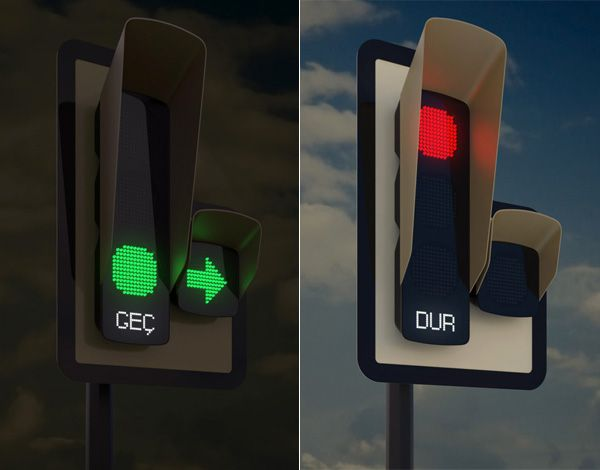 A City In Turkey Unveils New Design For Traffic Lights Designtaxi Com With Images Smart Traffic Lights Traffic Light Traffic Signal