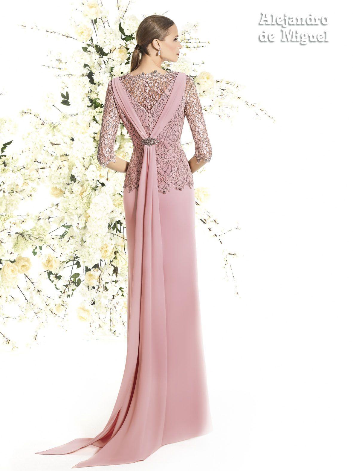 Alejandro de Miguel | Vestido Largo – mod. 824 | madre novia ...