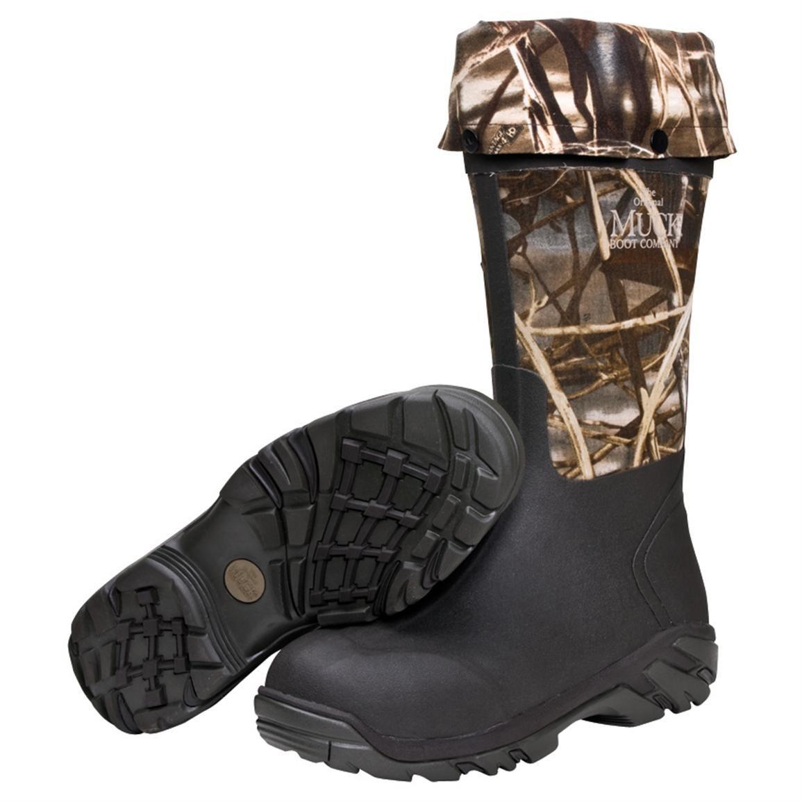 5e11ef40a9f Mens Columbia Adrenaline Boots, Mossy Oak - 1083953, Rubber Boots at ...