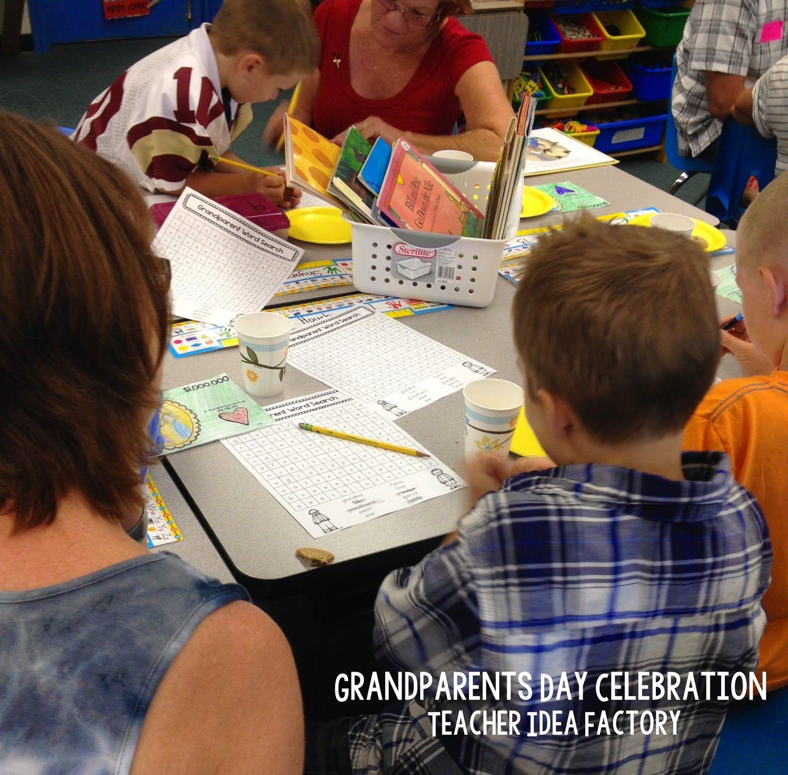 Teacher Idea Factory Grandparents Day Is September 7th
