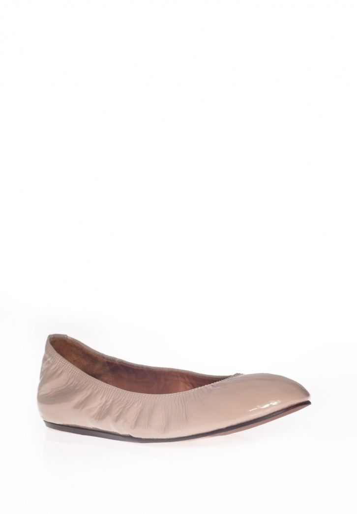 Lanvin Patent leather ballerina flat
