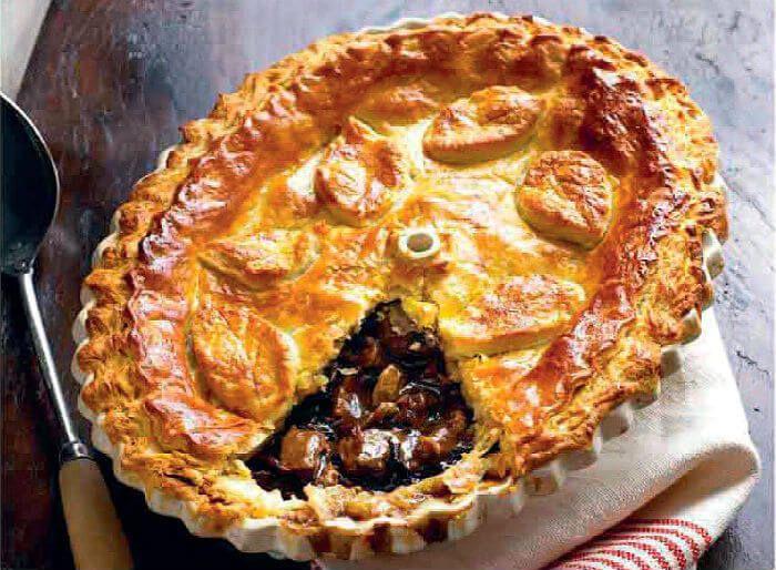Steak and Mushroom Pie | Savoury food, Tasty fish recipe ...