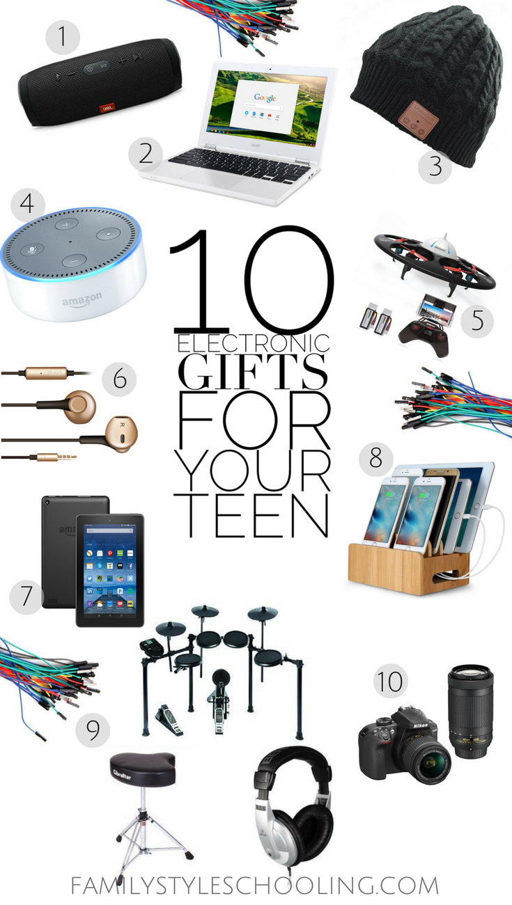 10 Electronic Gifts For Your Teen Familystyleschooling 2016