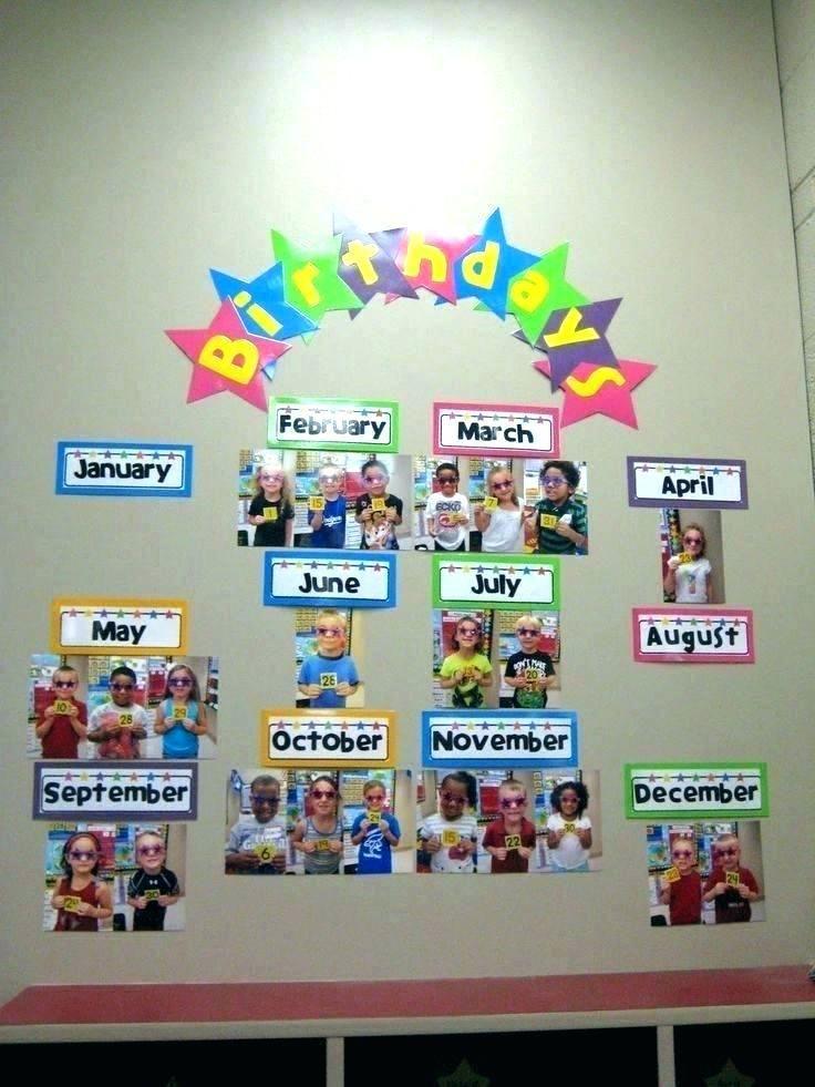Office Bulletin Board Ideas Pinterest Classroom Birthday Birthday Board Classroom Preschool Birthday