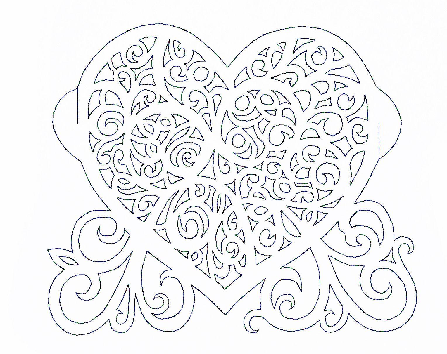 Открытки ко дню влюбленных своими руками шаблоны, открытка день рождение