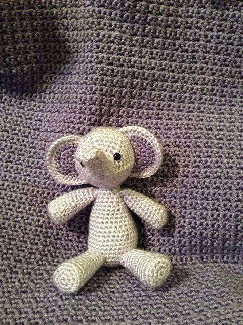 Ravelry: Elephant Amigurumi pattern by Louanne Greer