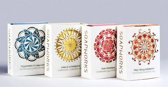 Soapworks Package Design on Behance in Packaging