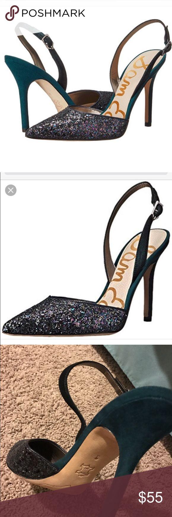 Selling this Sam Edelman pointy toe glitter Dora pump/sling new on Poshmark! My username is: bacictanya. #shopmycloset #poshmark #fashion #shopping #style #forsale #Sam Edelman #Shoes