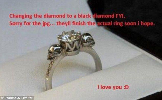 How romantic! Kat Von D engaged after on-again boyfriend Deadmau5 ...