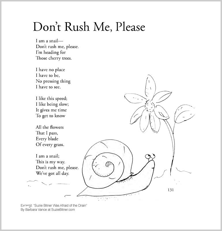 Don't Rush Me, Please