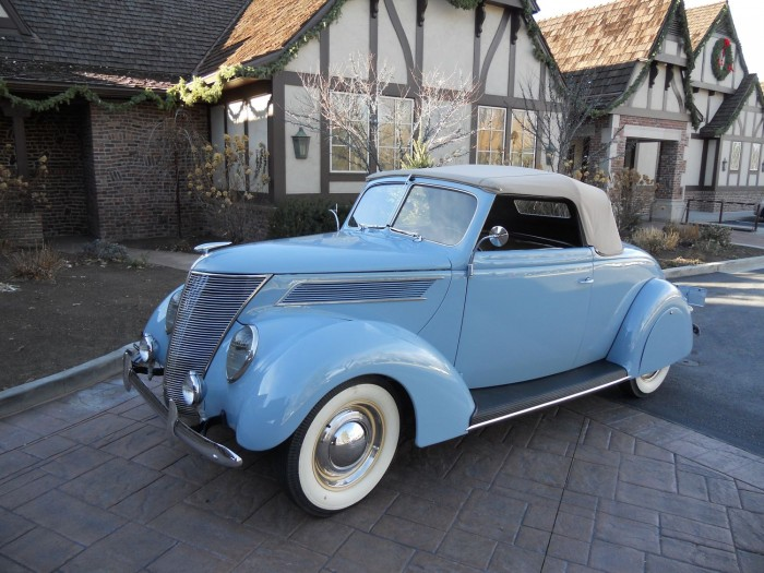 1937 Ford Convertible Ford Classic Cars Ford Convertible Classic Cars Vintage