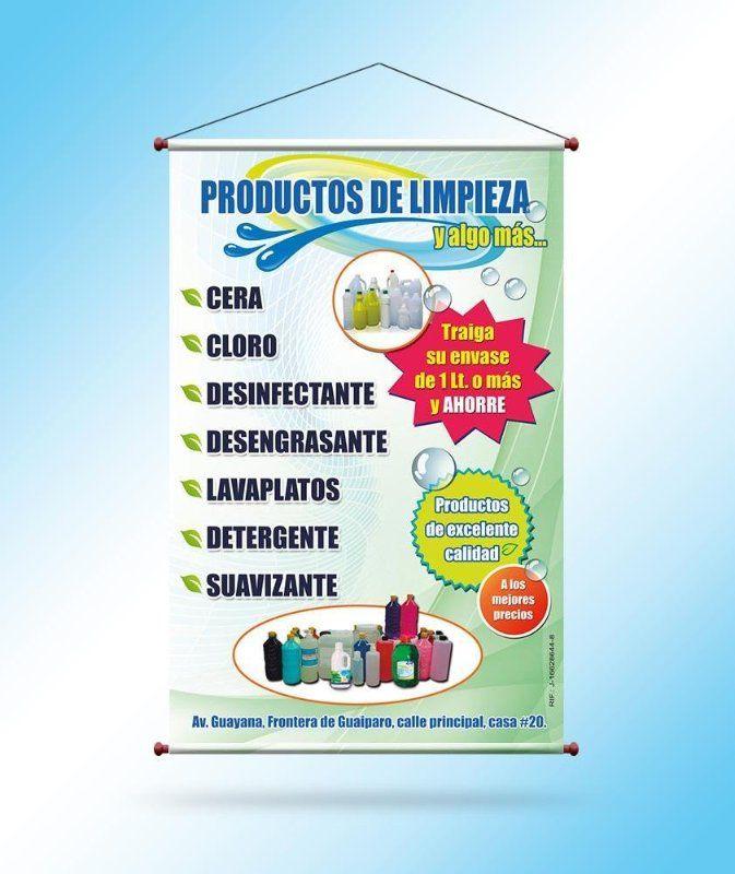 Sign Up Pendones Publicitarios Negocio De Limpieza Limpieza