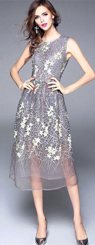 Dressy Midi Dress