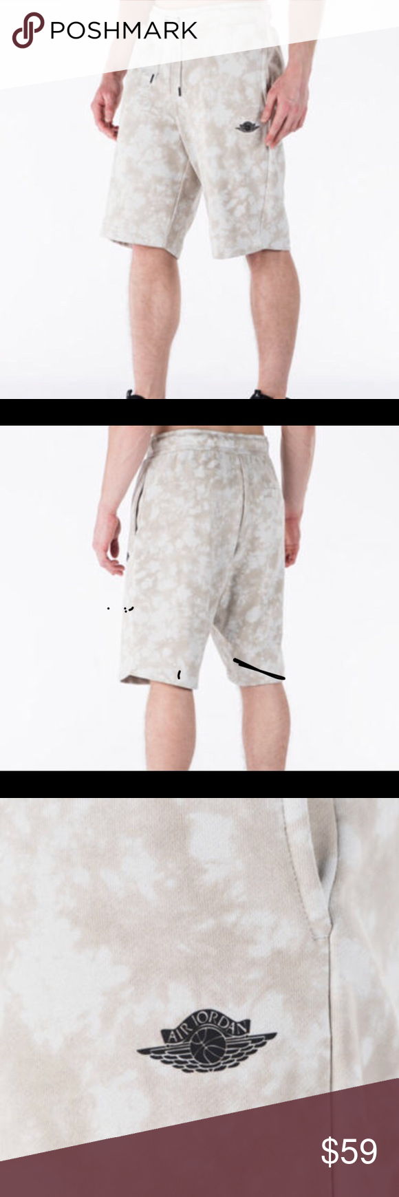 d9bf807bb54 Jordan Fadeaway French Terry Shorts, S&Lg,NWT!! Blow away the haters ...