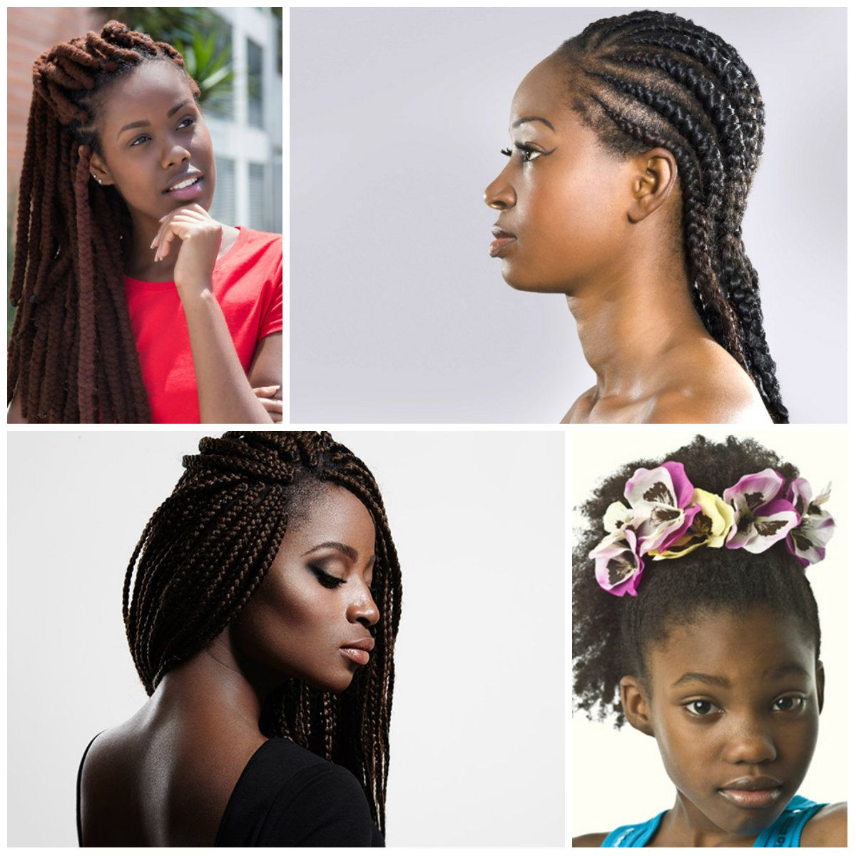 Cute and trendy hairstyles for black teenage girl black hairstyles