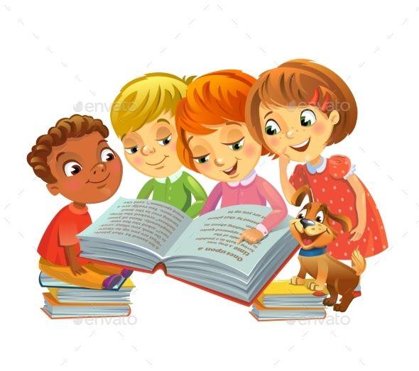 Children Reading Books  089da3c20e68