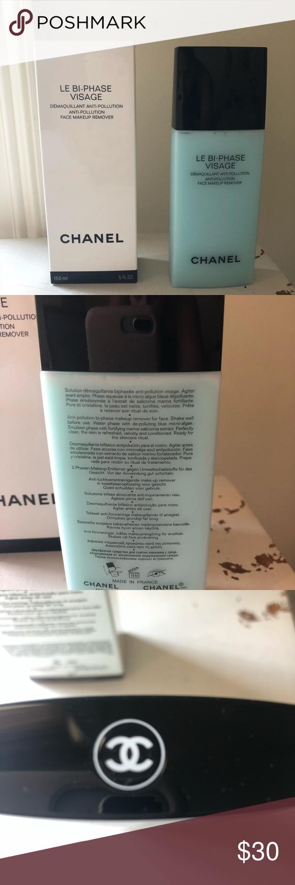 Chanel Face Makeup Remover Face makeup remover, Makeup