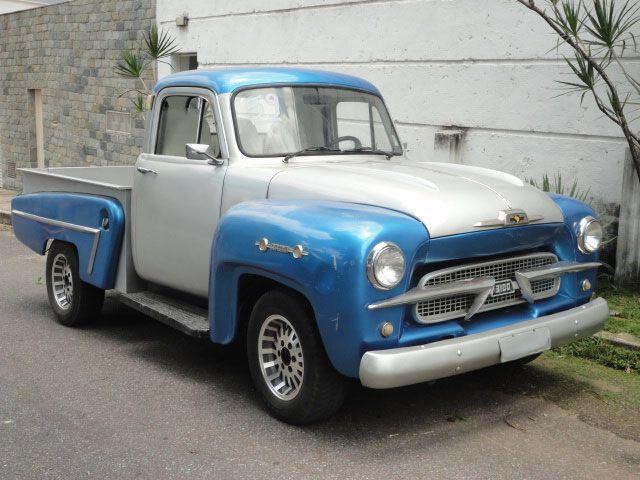 1959 Chevy 3100 Brasil Caminhonetes Antigas Chevy Caminhonetes