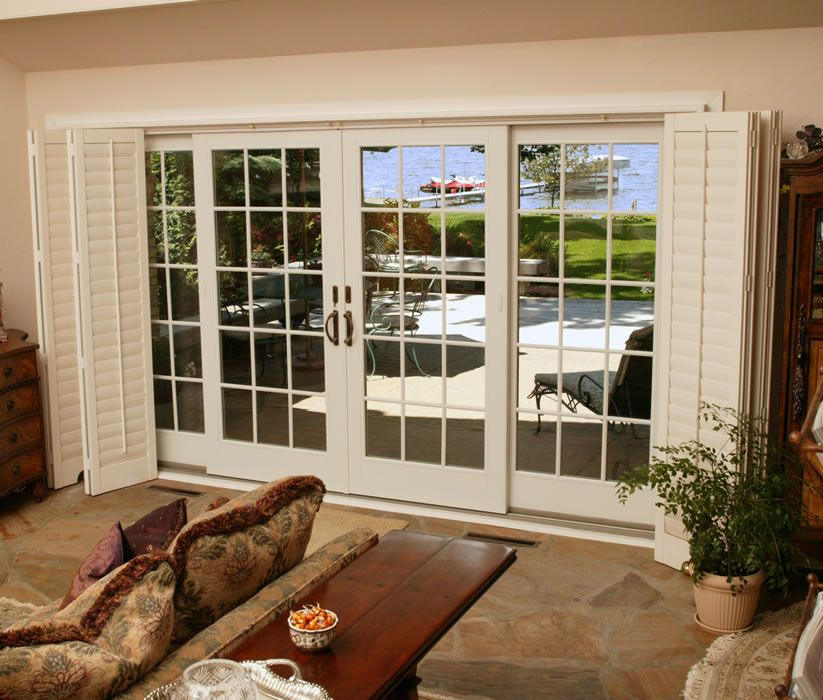 French Patio Doors From Renewal By Andersen Bring The Beauty Of Outdoors  Inside. Our Sliding French Doors Offer Space Saving Convenience In A Sleek  Design.