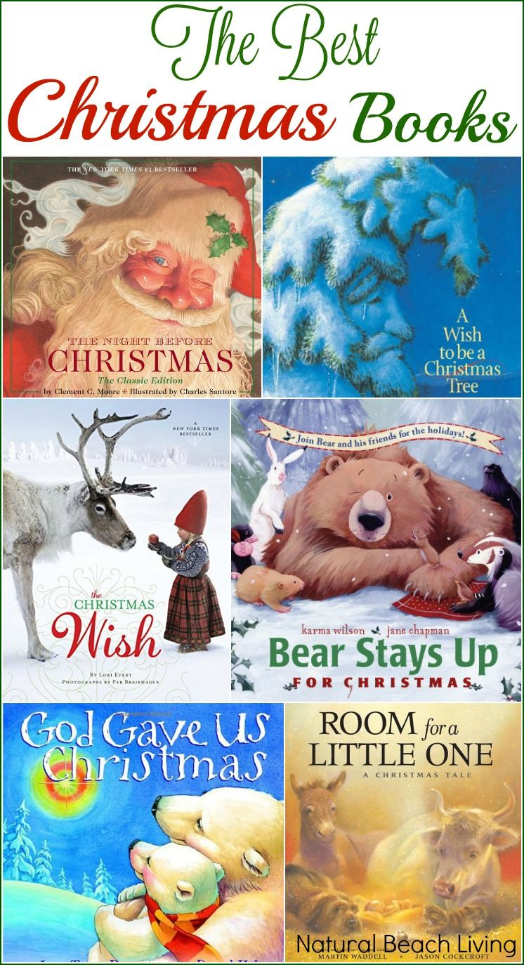 The Best Christmas Books for Kids | Natural Beach Living | Pinterest ...