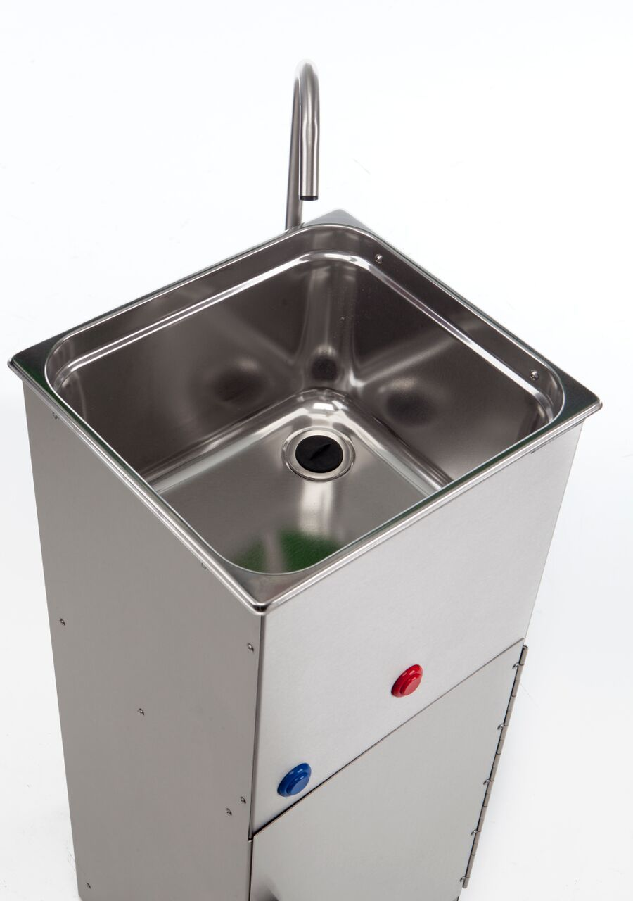 portable hand washing mobile sink unit