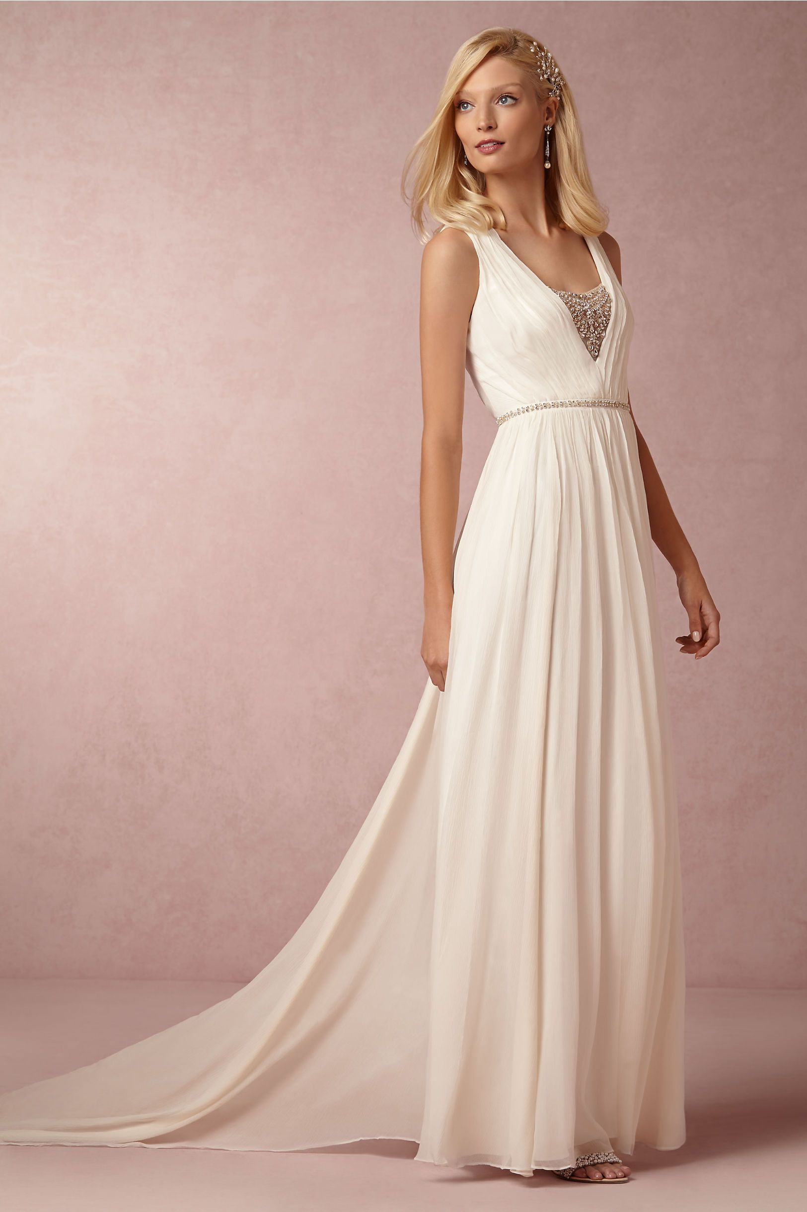 BHLDN\'s Nicole Miller Millie Gown in Ivory | Mejores ideas sobre ...