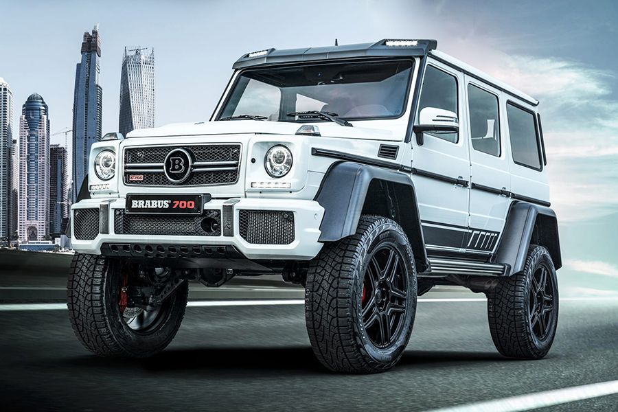 Brabus Announces Its 700 4x42 One Of Ten Final Edition Suv