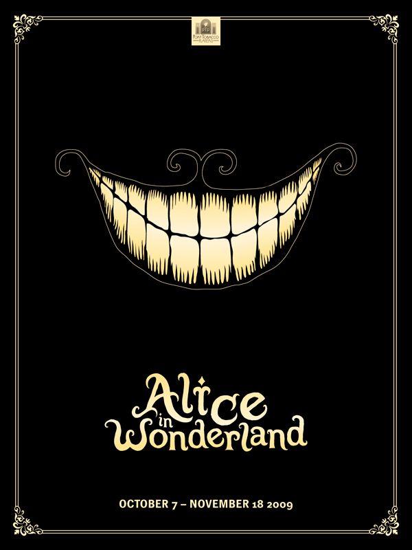 Alice In Wonderland Greg Eckler Alice In Wonderland Poster Theatre Poster Poster Design
