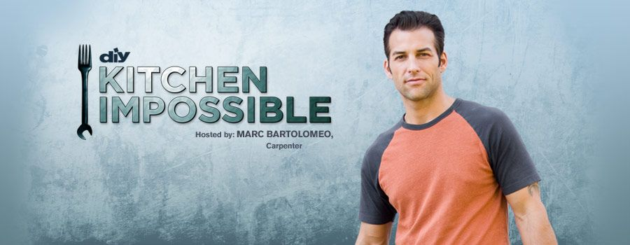 Kitchen Impossible Diy Network Television Show Mens Tshirts