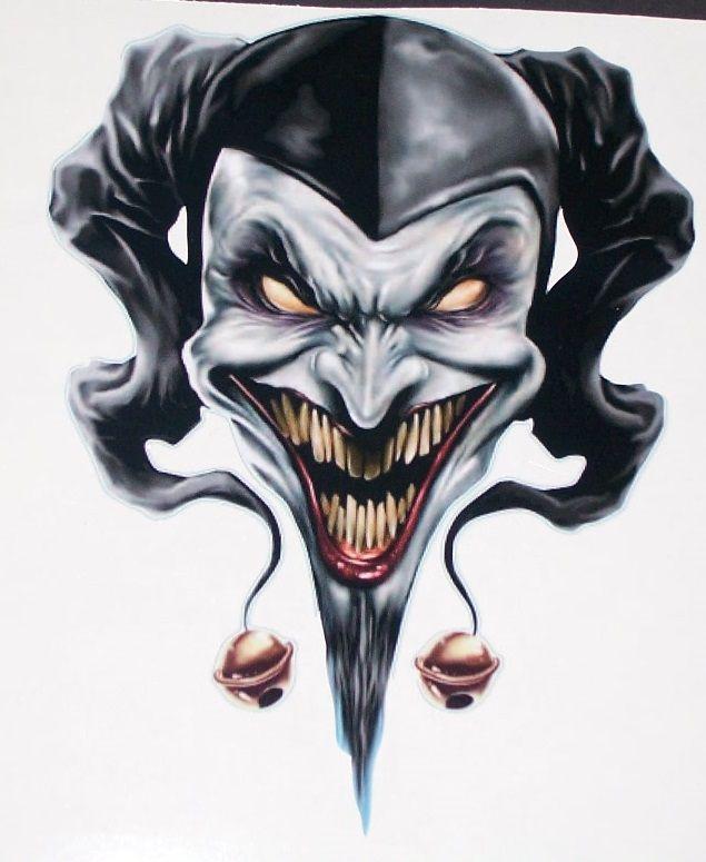 Evil Jester Tattoo : jester, tattoo, Tattoos