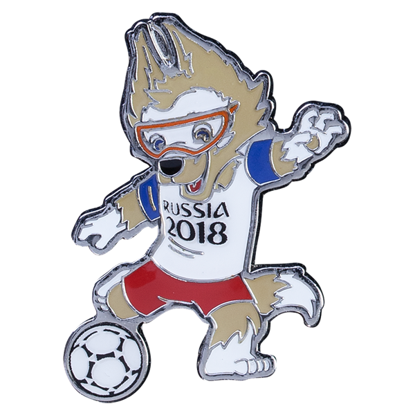2018 Fifa World Cup Russia Mascot Pin Fifa World Cup World Cup Fifa