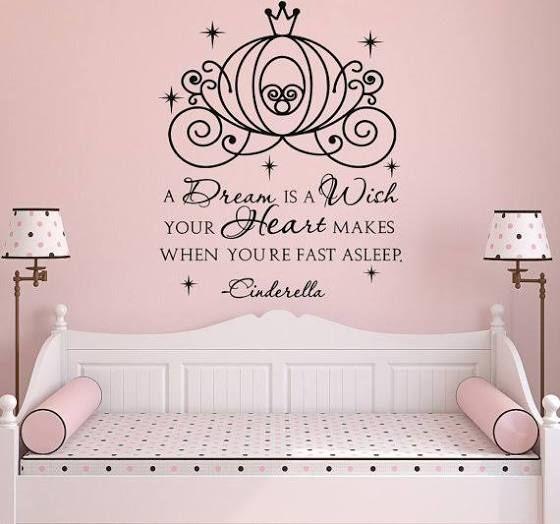 Disney Quotes Wall Art Disney Room Decor Wall Decal Fairy Wall
