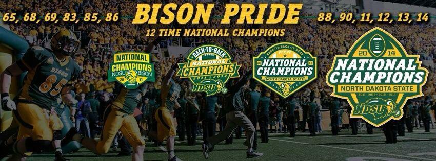 4peat ndsu bison national champions national champions