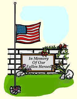 Patriotic memorial day. Clip art free clipart
