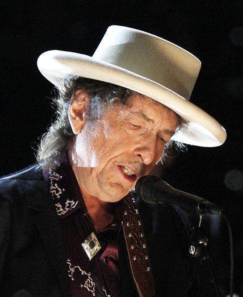 Bob Dylan; cool hat